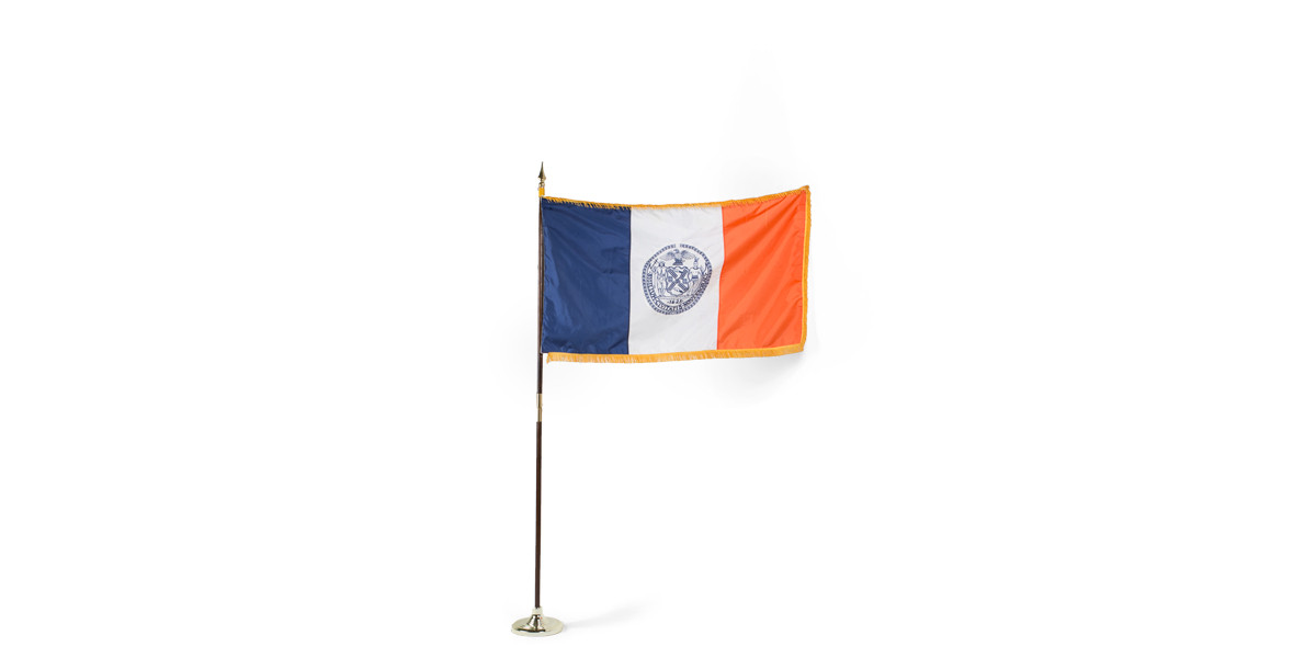 "60""w x 36""h New York City Court Flag FLG013908"
