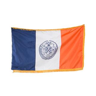 """60""""w x 36""""h New York City Court Flag FLG013908"""