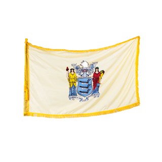 "60""w x 36""h New Jersey State Flag FLG013992"