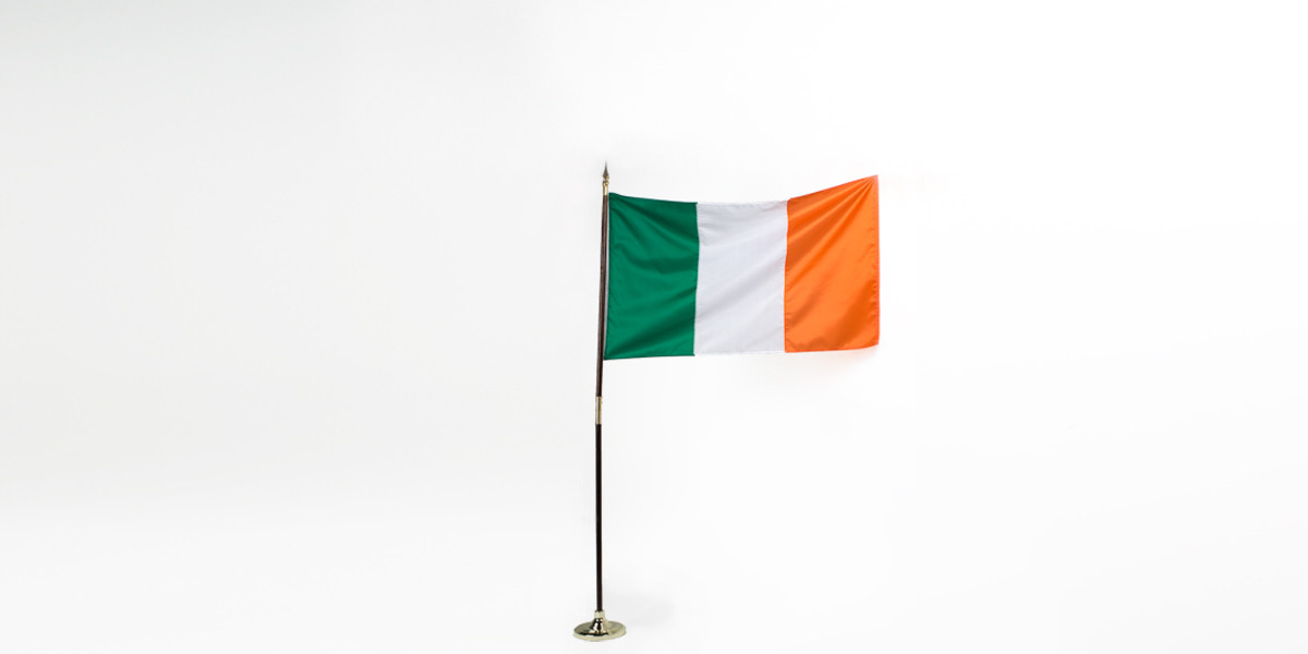 "60""w x 36""h Irish Flag FLG013991"