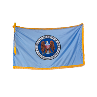 "60""w x 36""h National Security Agency Flag FLG014000"