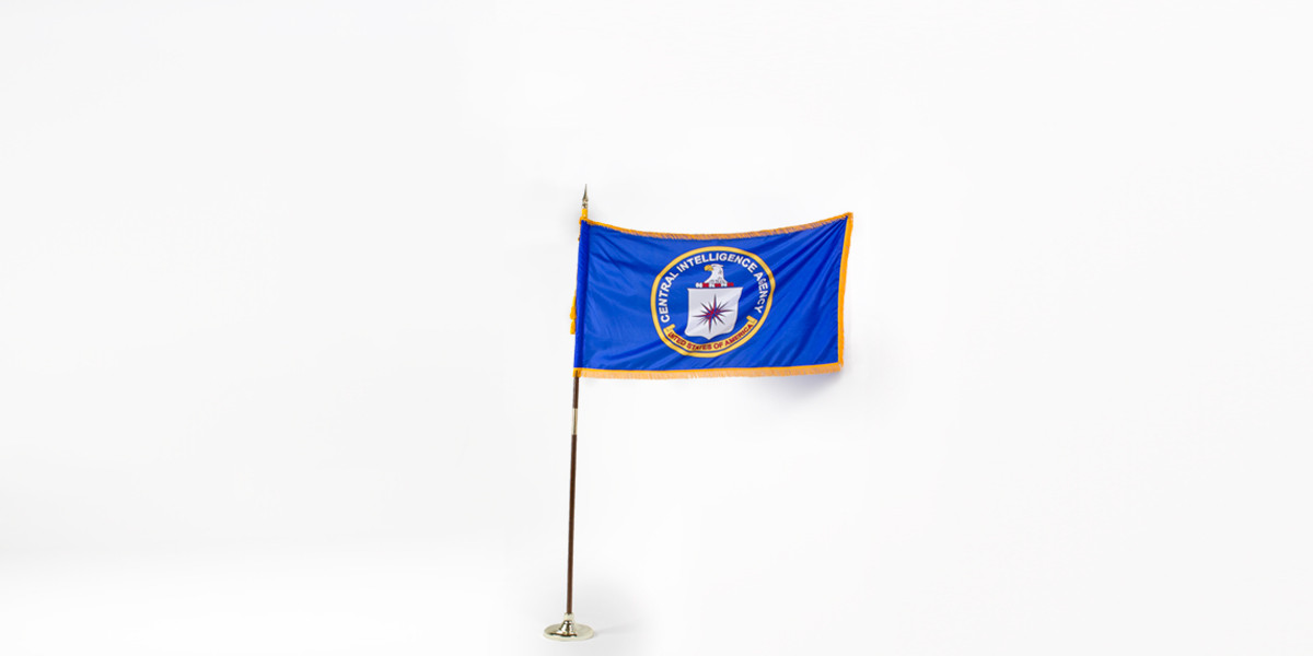 "60""w x 36""h Central Intelligence Agency Flag FLG014001"