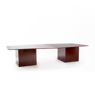 "122-288""w x 48""d Dark Cherry Conference Table TBL006688"