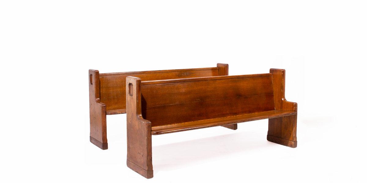 "75""w x 18""d Mahogany Courtroom Bench BEN000221"