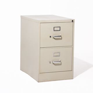 "18.25""w x 26.5""d Putty Vertical File FIL012574"