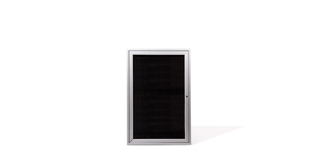 "24""w x 36""h Glass Wall Display Case MIS011733"
