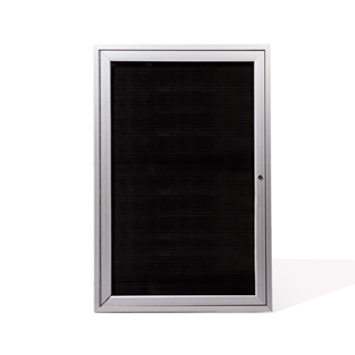 "24""w x 36""h Glass Wall Display Case MIS011733"