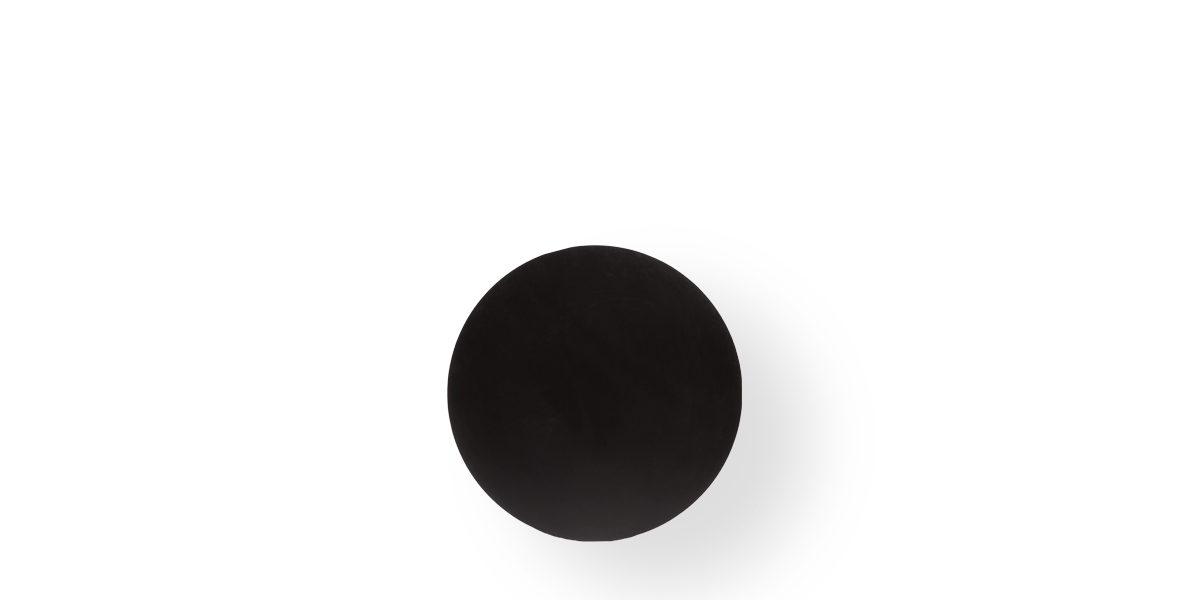 "36""dia Black Matte Round Table Top TBL003180"