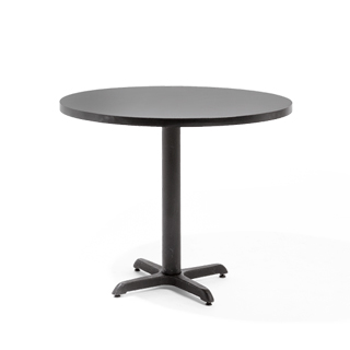 "36""dia Black Matte Round Table Top TBL003180"