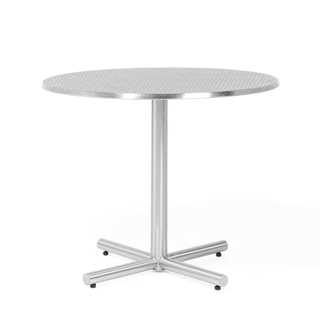 "35""dia Chrome Round Table Top TBL004589"