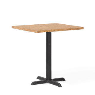 "30""w x 24""d Light Oak Café Table Top TBL005328"