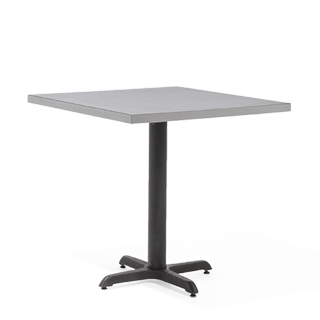 "30""w x 30""d Grey Laminate Café Table Top TBL007369"
