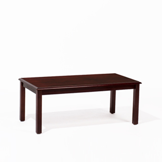 "40""w x 20""d Mahogany Coffee Table TBL009254"