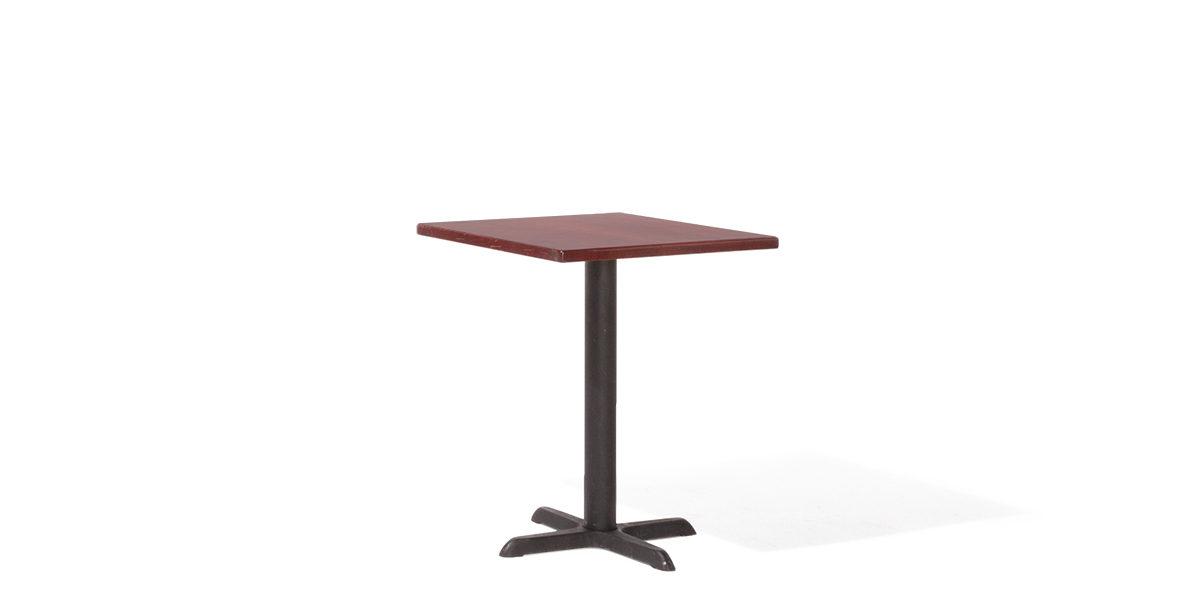 """24""""w x 24""""d Mahogany Veneer Café Table Top TBL010364"""