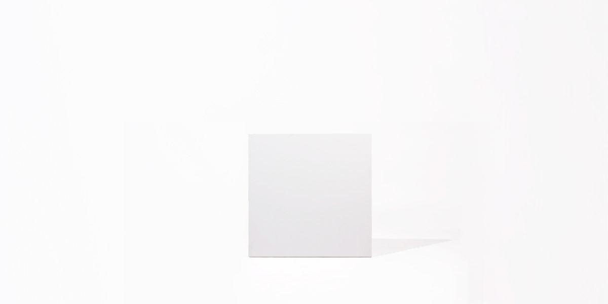 "36""w x 36""d White Laminate Café Table Top TBL012214"