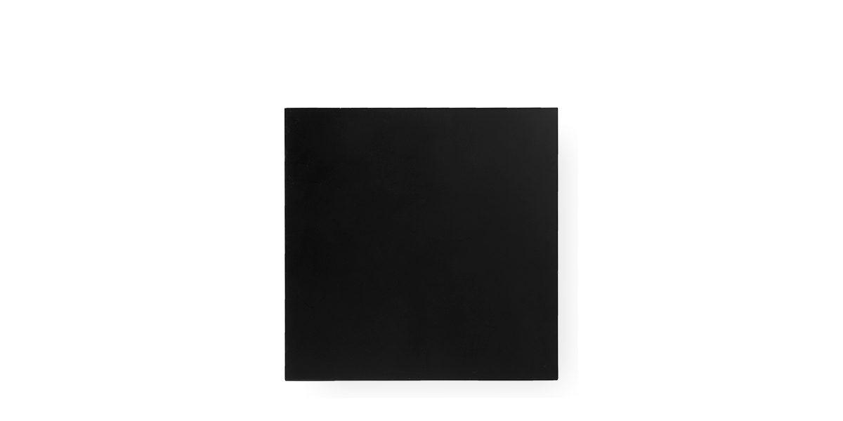 """30""""w x 30""""d Black Laminate Café Table Top TBL012724"""