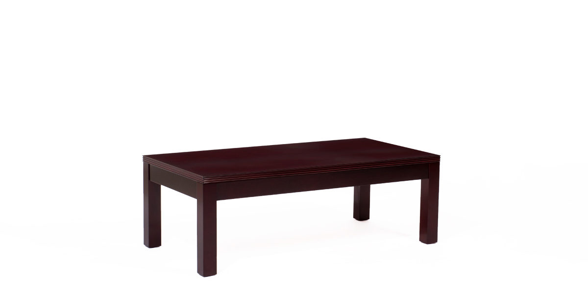 "48""w x 24""d Mahogany Veneer Coffee Table TBL013993"