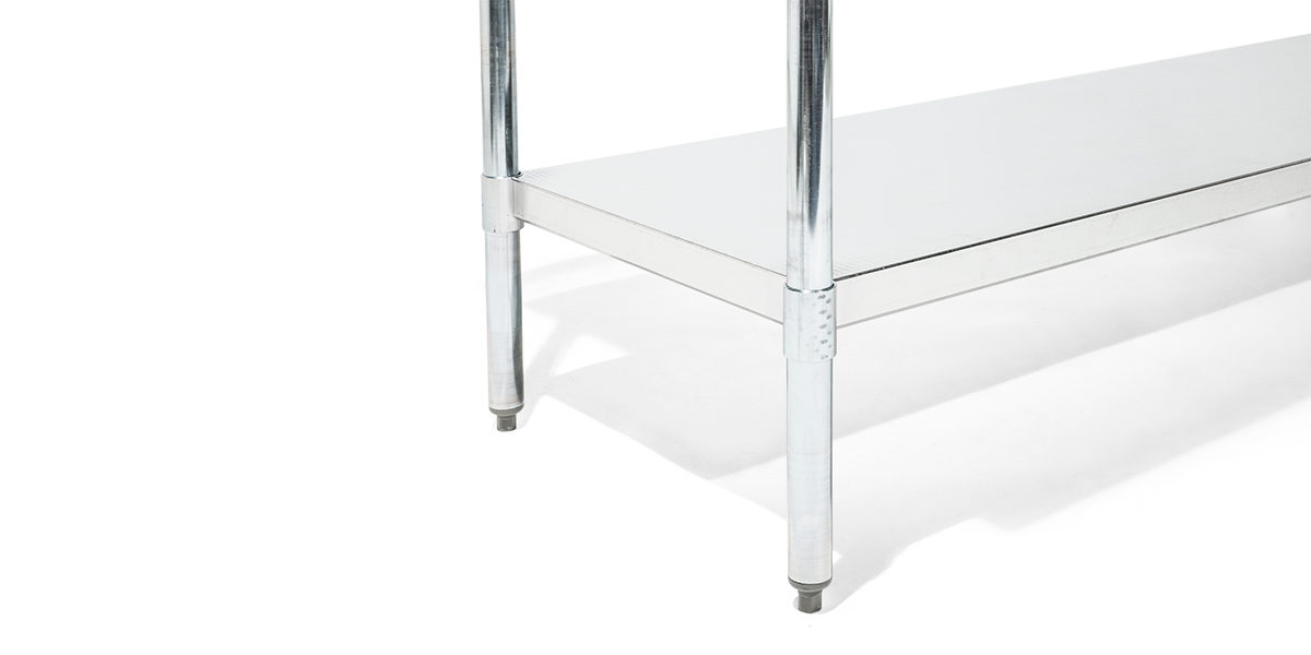 "72""w x 30""d Stainless Steel Work Table TBL014003"