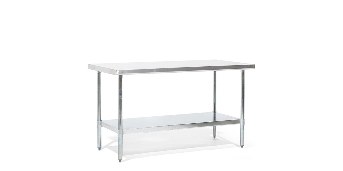 "60""w x 30""d Stainless Steel Work Table TBL014004"