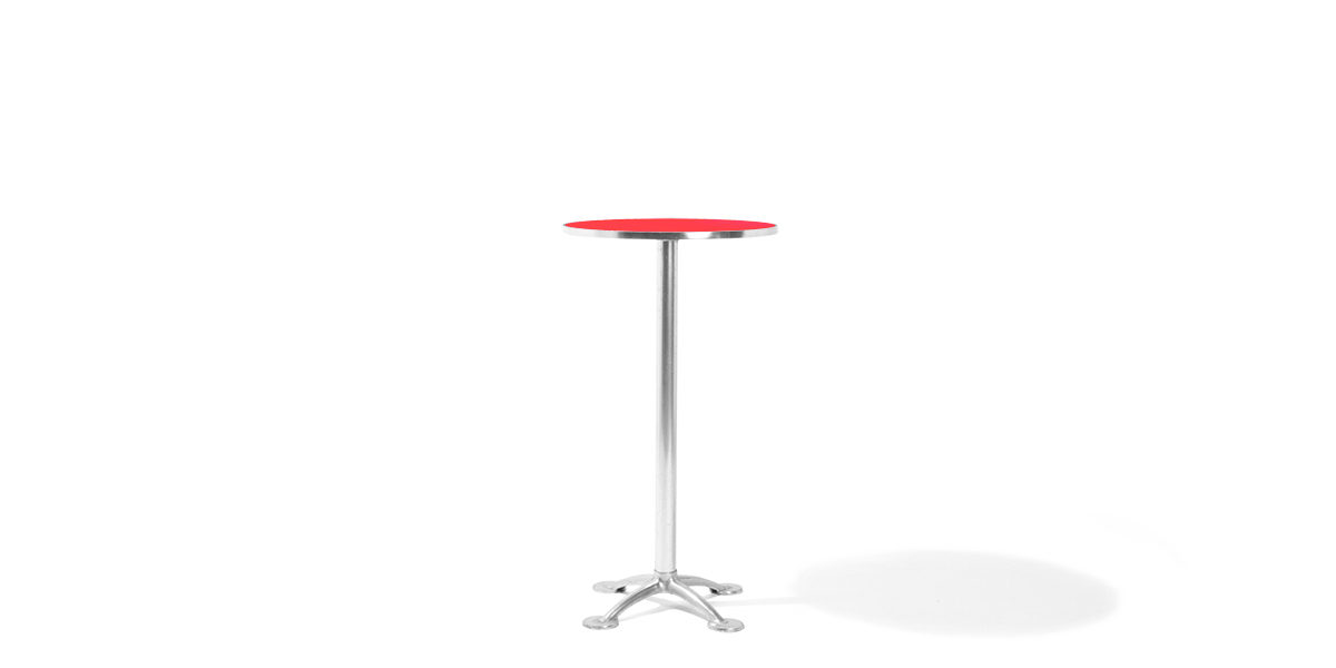"24""dia Red Laminate Round Table Top TBR008595"