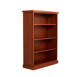 "38""w x 53.5""h Honey Cherry Bookcase BKC003609"
