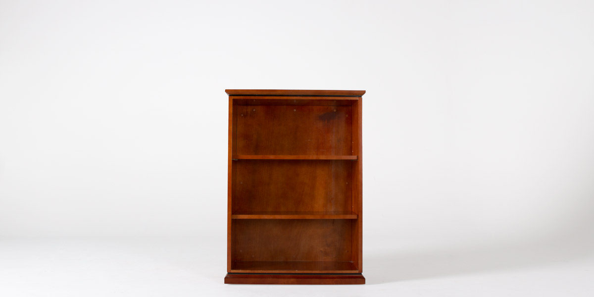 "36""w x 49""h Medium Cherry Bookcase BKC010033"