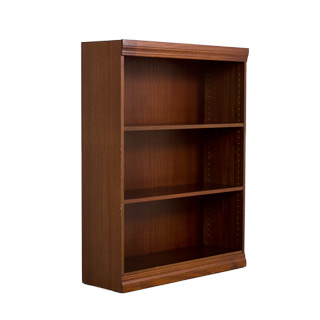 "36""w x 48""h Walnut Veneer Bookcase BKC012064"