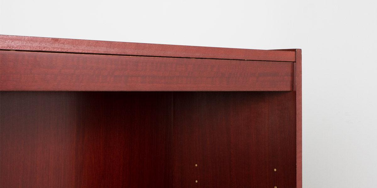 """36""""w x 60""""h Cherry Veneer Bookcase BKC011730"""