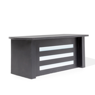 "30""w x 71.5""d Black Anchor Desk DSK012603"
