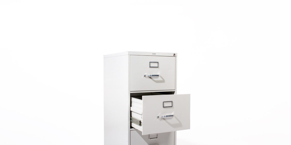 Hon 4 Drawer Legal Vertical File FILE124