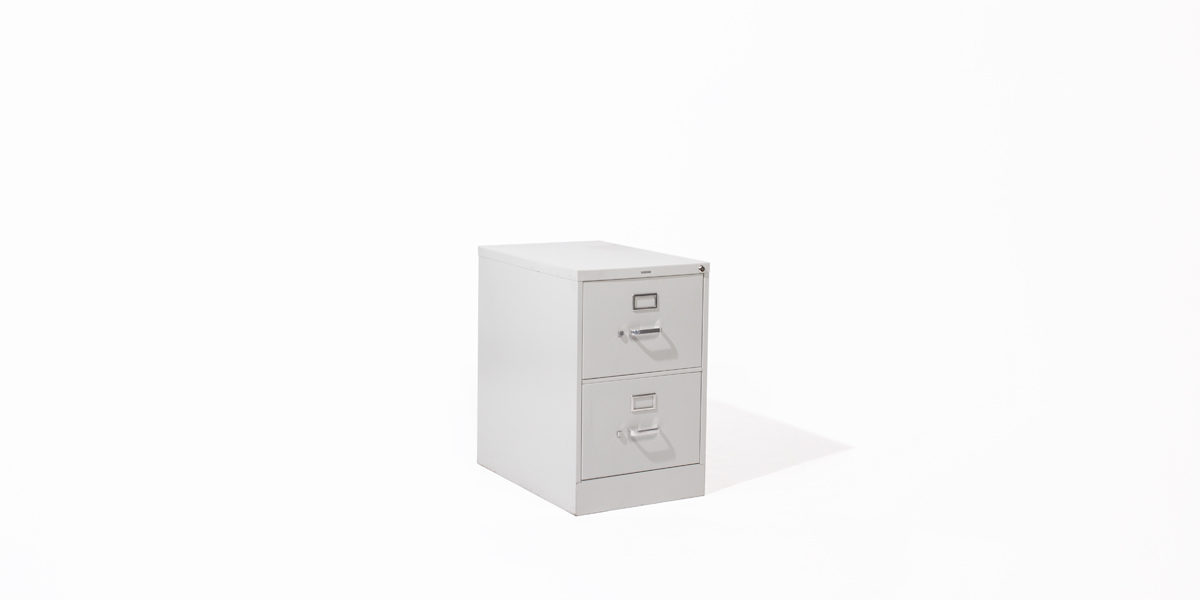 Hon 2 Drawer Legal Vertical File FILE123