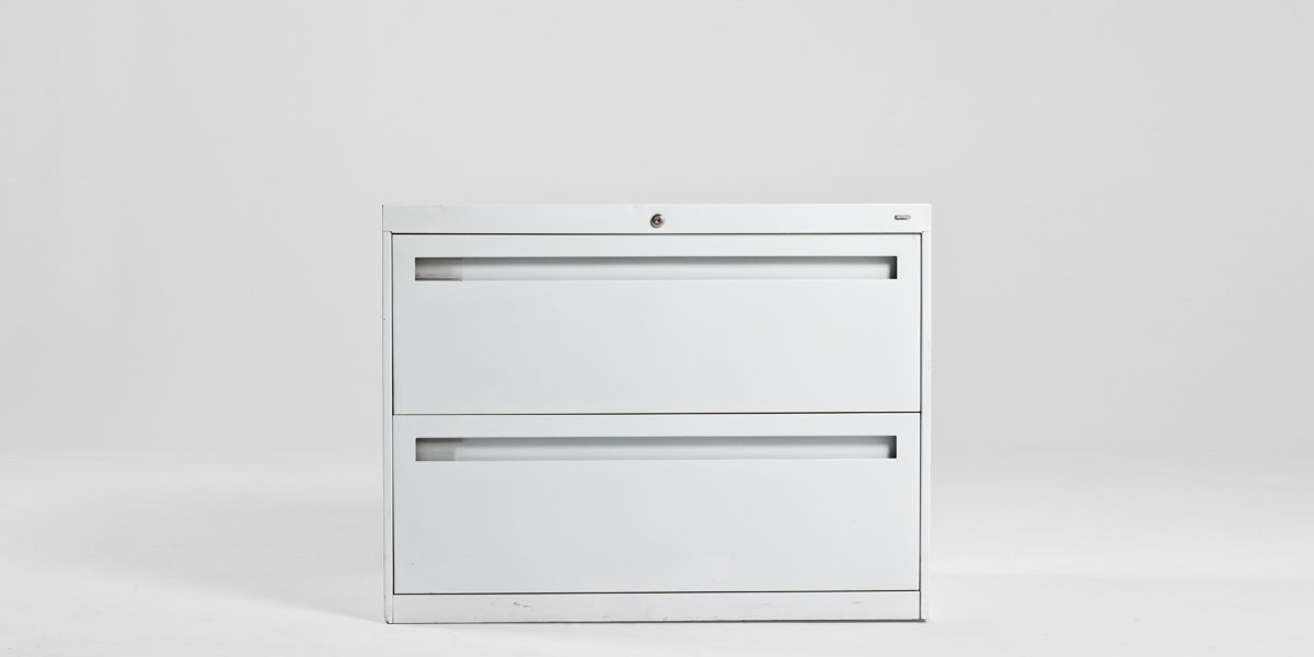 "36""w x 18""d White Lateral File FIL005207"