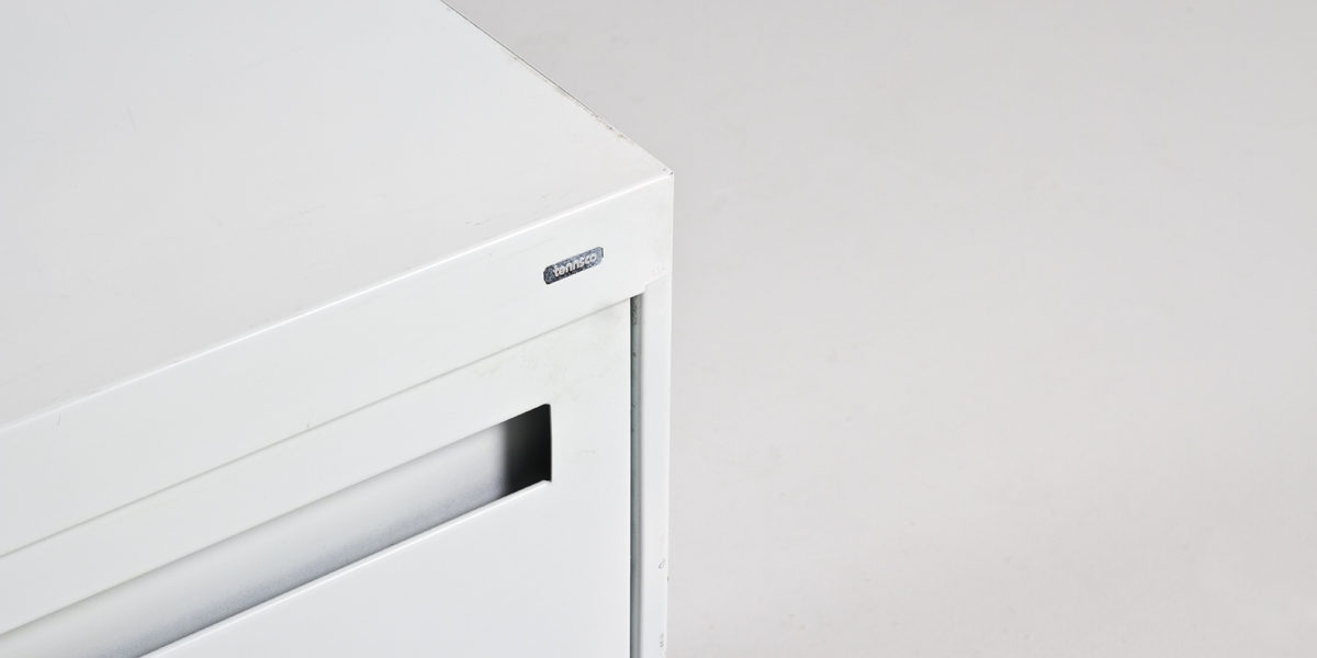 """36""""w x 18""""d White Lateral File FIL005207"""