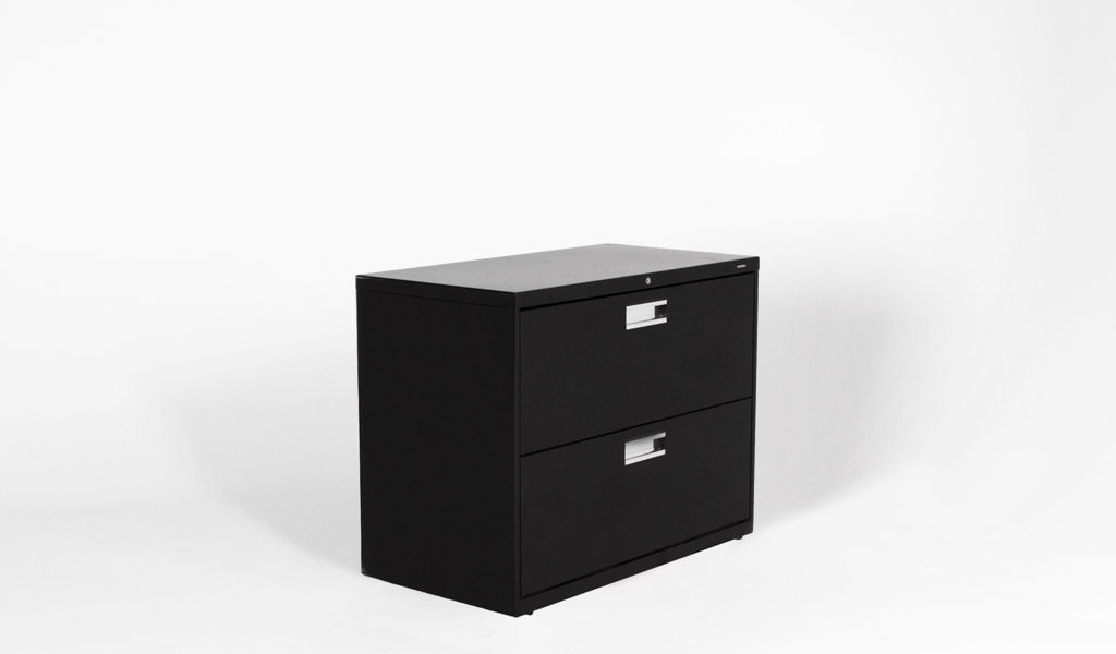 "36""w x 19.25""d Black Lateral File FIL006352"