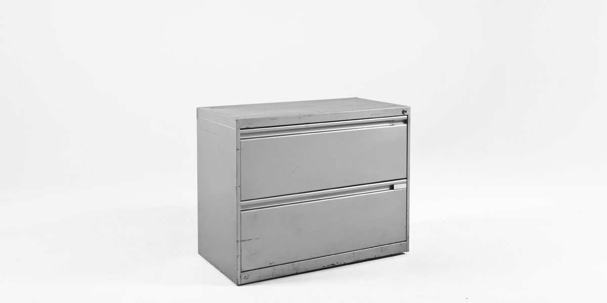 "36""w x 18""d Silver Lateral File FIL006502"