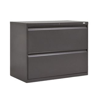 "36""w x 19.25""d Charcoal Grey Lateral File FIL007130"
