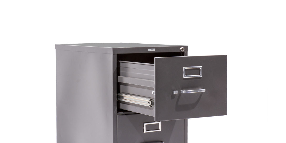 Hon 2 Drawer Legal Vertical File FILE114