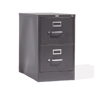"18""w x 27""d Charcoal Grey Vertical File FIL010679"
