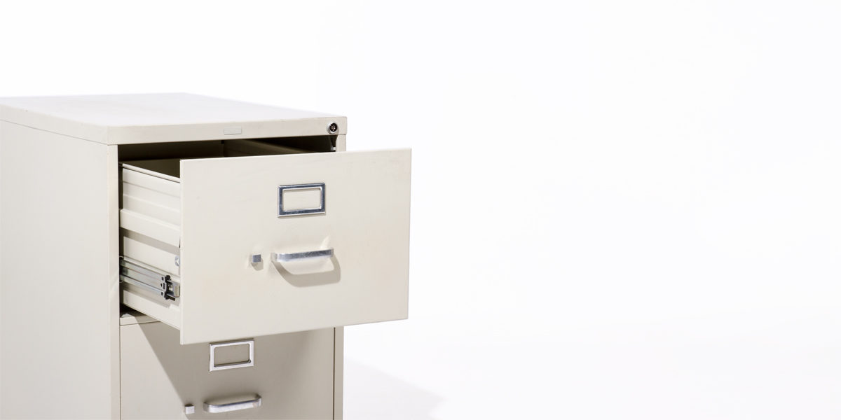 Hon 2 Drawer Legal Vertical File FILE120