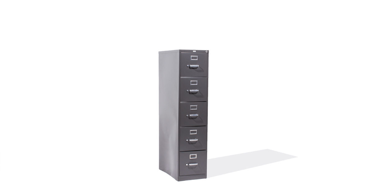 Hon 5 Drawer Letter Vertical File FILE113