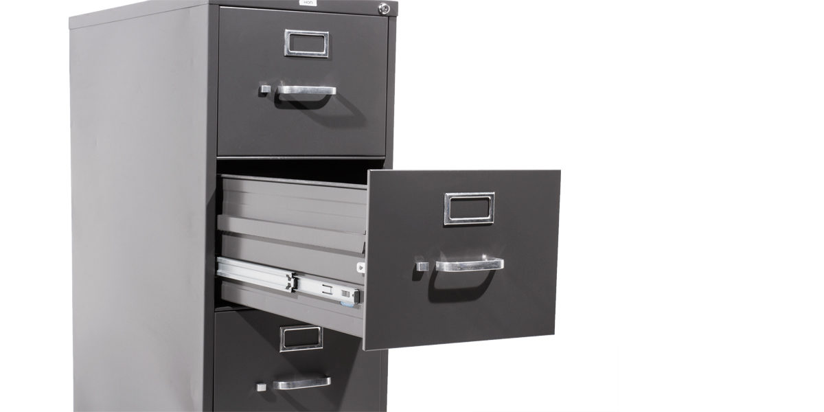 Hon 5 Drawer Legal Vertical File (qty:4) FILE112