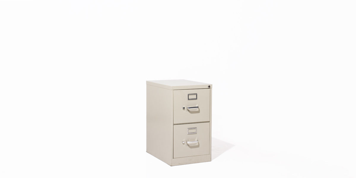 Hon 2 Drawer Letter Vertical File FILE119