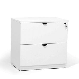 "30""w x 20""d White Laminate Lateral File FIL013658"