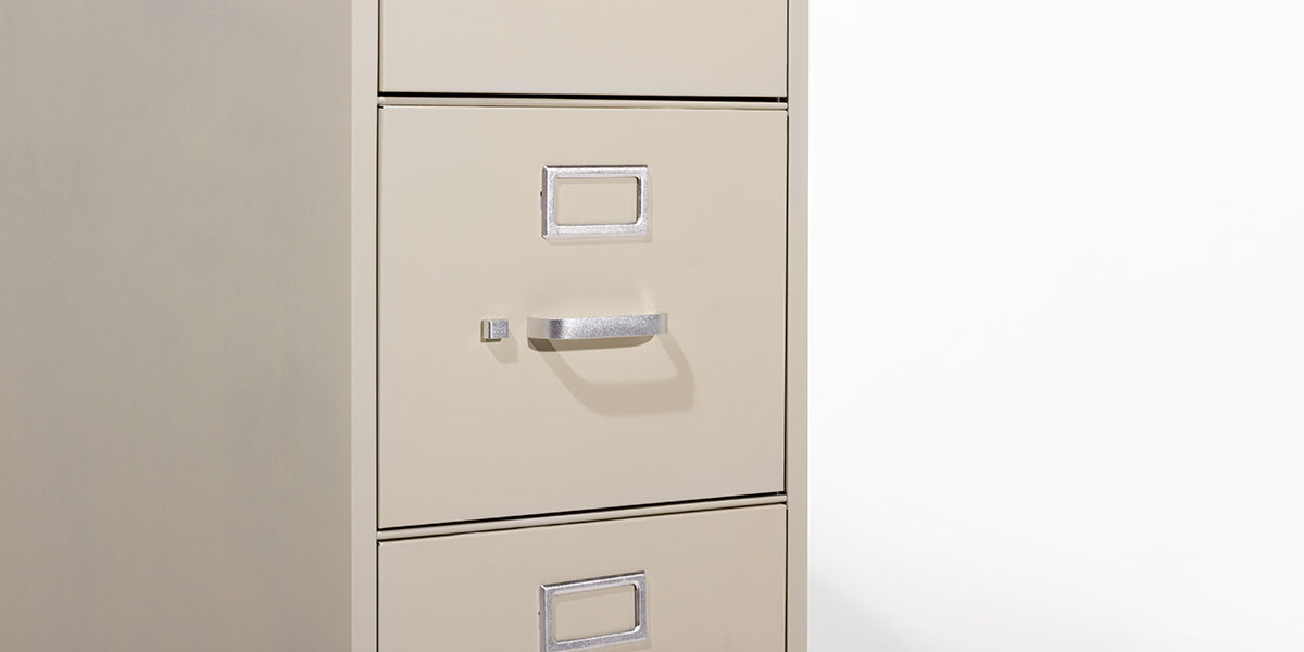 Hon 5 Drawer Letter Vertical File FILE109
