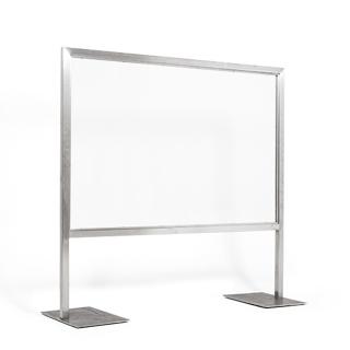 """77.25""""w x 24""""d Stainless Steel Marker Board MIS013624"""