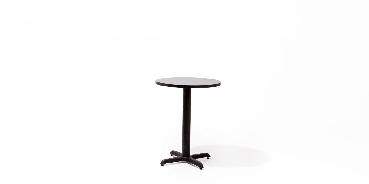 "24""dia Black Laminate Round Table Top TBL006934"