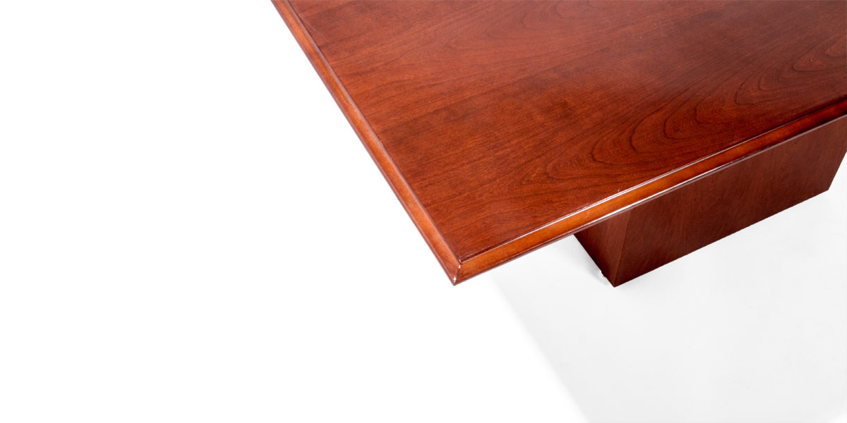 "120""w x 48""d Medium Cherry Veneer Conference Table TBL007444"