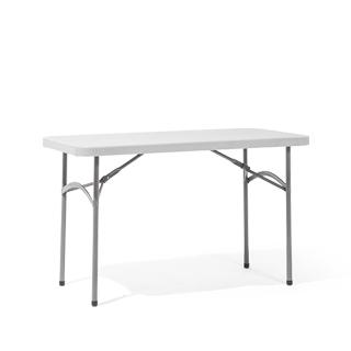 "48""w x 24""d Light Grey Folding Table TBL011753"