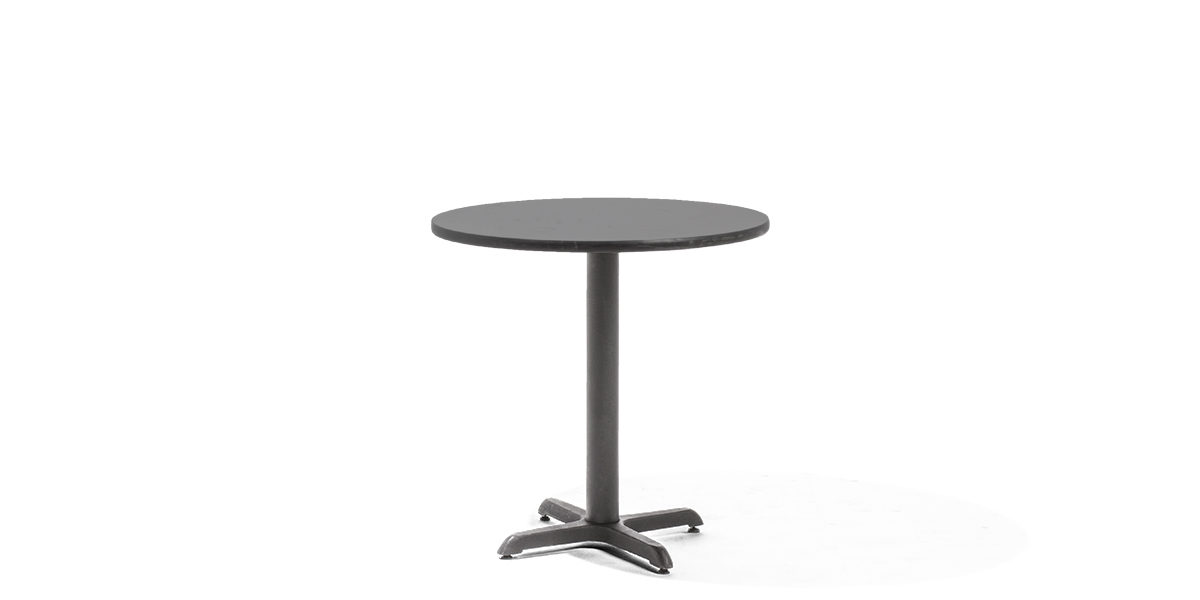 "30""dia Black Laminate Round Table Top TBL013247"