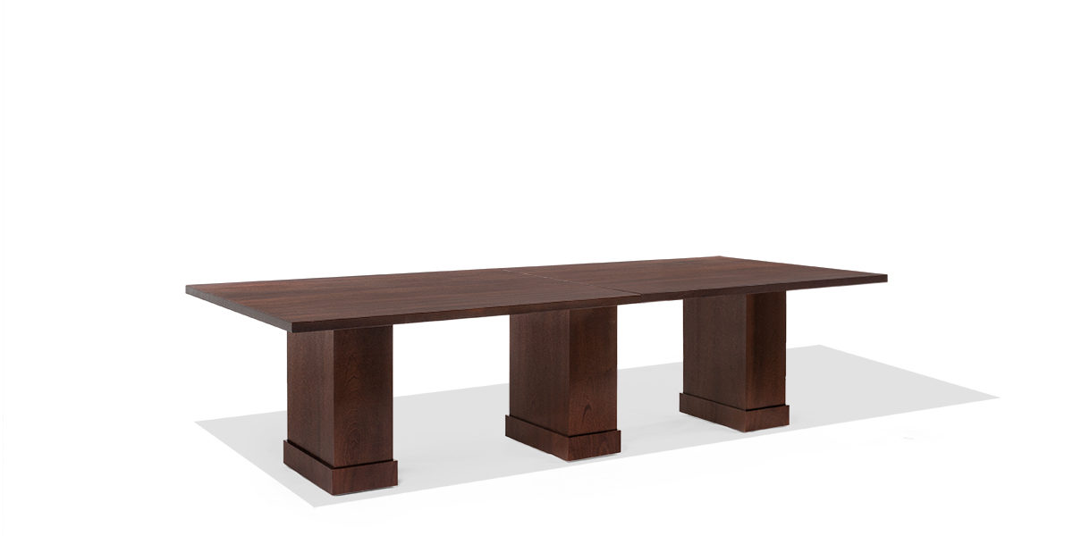 8ft - 24ft Modular Espresso Conference Table TBL013963